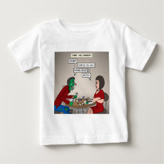 Zombie Table Manners Baby T-Shirt