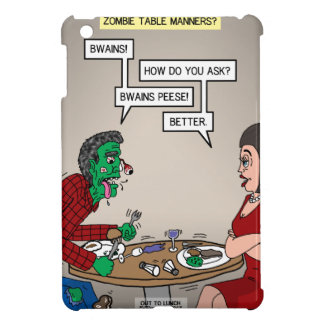 Zombie Table Manners iPad Mini Cover