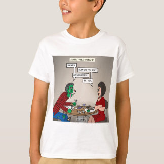 Zombie Table Manners T-Shirt