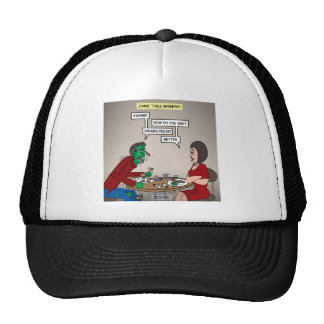Zombie Table Manners Trucker Hat