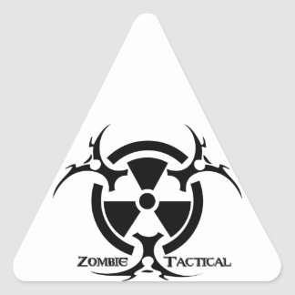 Zombie Tactical Apparel Triangle Sticker