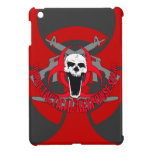Zombie tactical red cover for the iPad mini