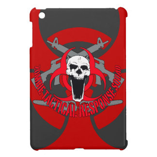 Zombie tactical red iPad mini covers