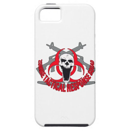 Zombie tactical red iPhone 5 cover