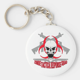 zombie tactical response squad 2 keychain