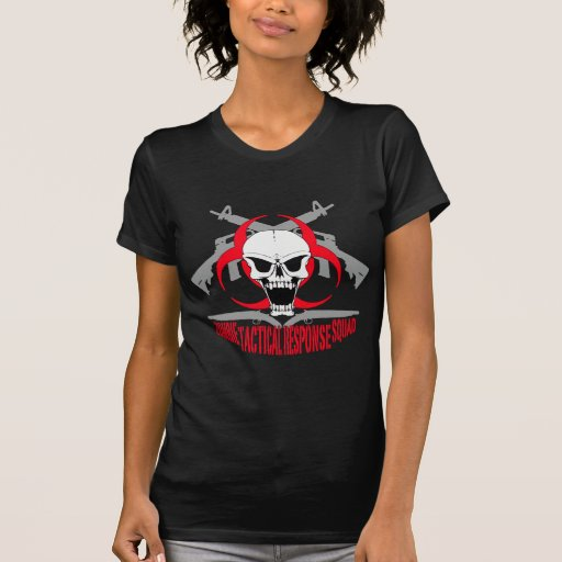 zombie tactical response squad 2 t shirts