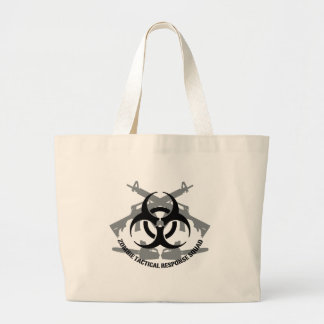 Zombie tactical response squad canvas bags