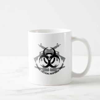 Zombie tactical response squad coffee mug