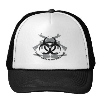 Zombie tactical response squad trucker hat