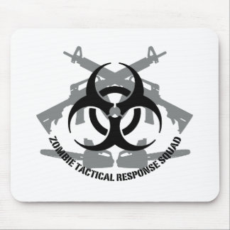 Zombie tactical response squad mouse pad