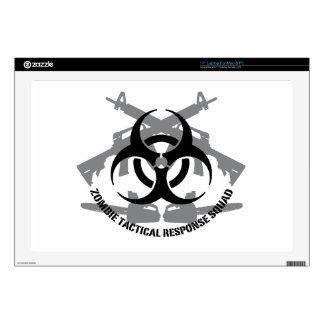 Zombie tactical response squad laptop skins