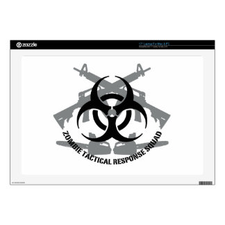 """Zombie tactical response squad skin for 17"""" laptop"""
