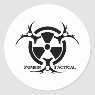 Zombie Tactical sticker