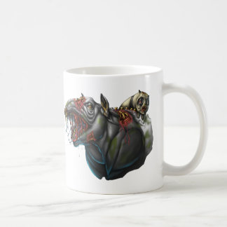 Zombie Tapir and Panda Classic White Coffee Mug