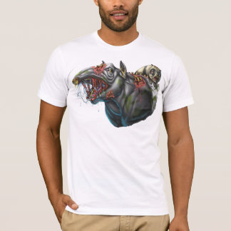 Zombie Tapir and Panda T-Shirt