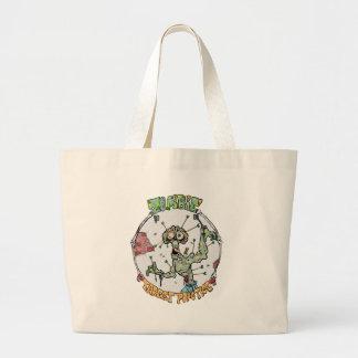 Zombie Target Practice Jumbo Tote Bag
