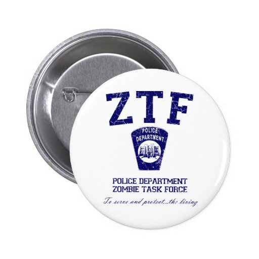Zombie Task Force 2 Inch Round Button
