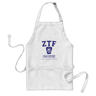 Zombie Task Force Adult Apron