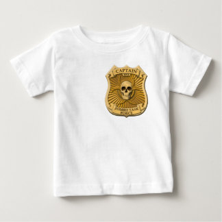 Zombie Task Force - Captain Badge Baby T-Shirt