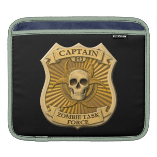 Zombie Task Force - Captain Badge Sleeves For iPads