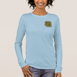 Zombie Task Force - Captain Badge Long Sleeve T-Shirt