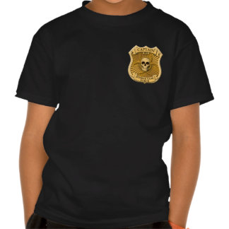 Zombie Task Force - Captain Badge Tee Shirt