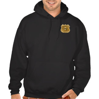 Zombie Task Force - Captain Badge Hooded Pullovers