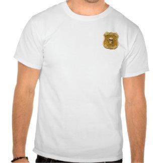 Zombie Task Force - Captain Badge Tshirts