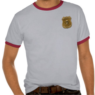 Zombie Task Force - Captain Badge Tees