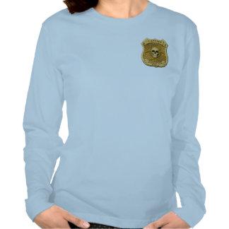 Zombie Task Force - Captain Badge T Shirt