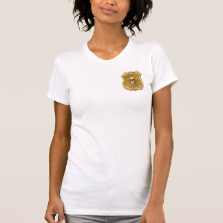 Zombie Task Force - Captain Badge T Shirts