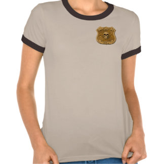 Zombie Task Force - Captain Badge Tshirt