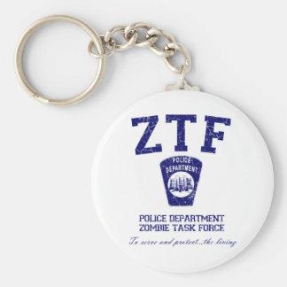 Zombie Task Force Key Chain