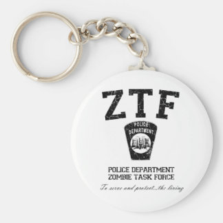 Zombie Task Force Key Chains