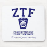 Zombie Task Force Mouse Pad