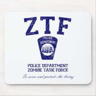 Zombie Task Force Mousepads