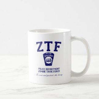 Zombie Task Force Classic White Coffee Mug