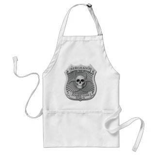 Zombie Task Force - Sergeant Badge Adult Apron