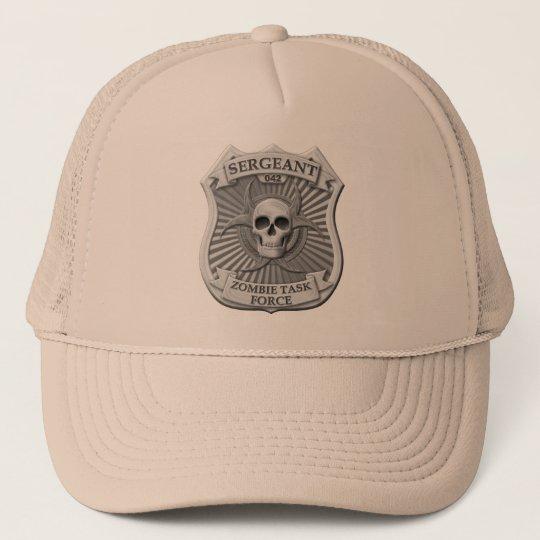 Zombie Task Force - Sergeant Badge Trucker Hat