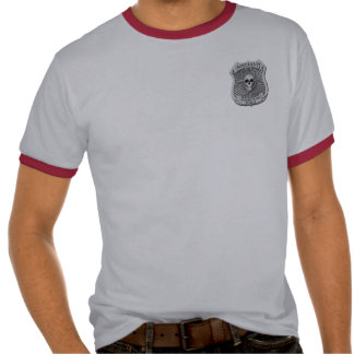 Zombie Task Force - Sergeant Badge Tee Shirt