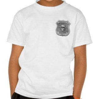 Zombie Task Force - Sergeant Badge Tee Shirts