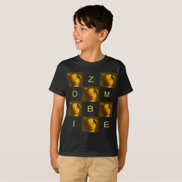Halloween Themed Zombie Teddy Bear Children's T-shirt
