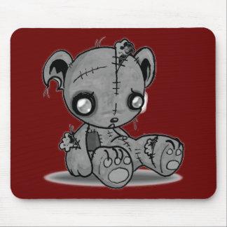 Zombie Teddy Bear Mousemats