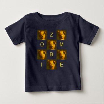 Zombie Teddy  Fine Jersey Baby T-shirt