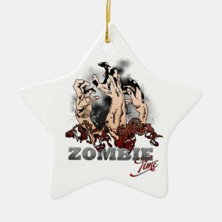Zombie Time Ceramic Ornament