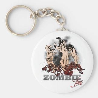 Zombie Time Keychain
