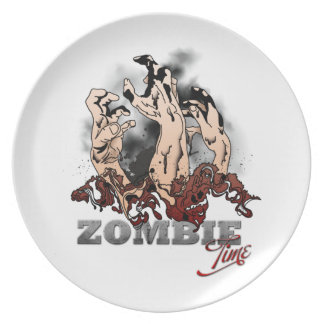 Zombie Time Party Plates