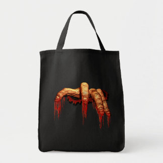 Zombie Tote Bag Halloween Gory Scary Zombie Bag