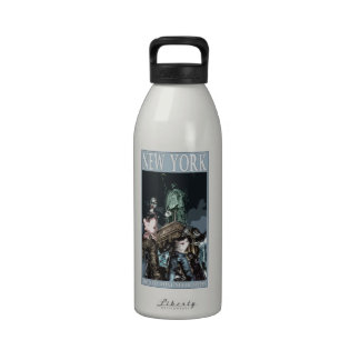 Zombie Tourism - NYC Water Bottle