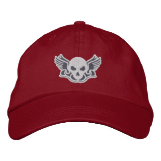 Zombie Track Club Gray Embroidered Baseball Hat